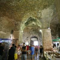 Déambuler dans le palais de Dioclétien à Split