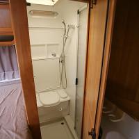 La douche / toilettes