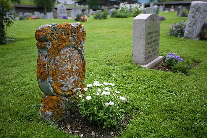 certaines tombes dates du 17ème siècle