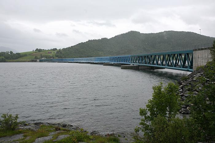 Un des ponts que nous traversons