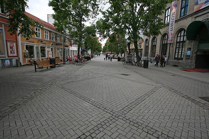 Le centre-ville piéton