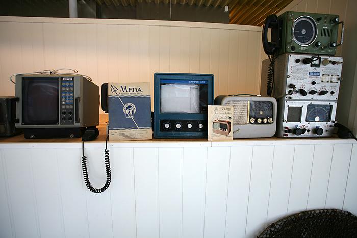 de vieux appareils de mesure