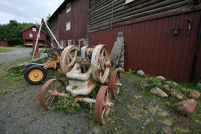 là une exposition d'outils anciens. Toutes les explications sont malheureusement en norvégien. On n'a pas tout compris.