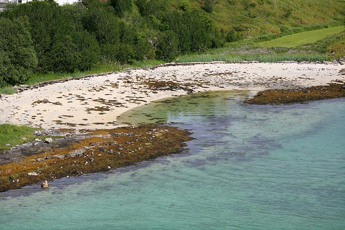 une « plage » (bon, c'est marée basse, là)