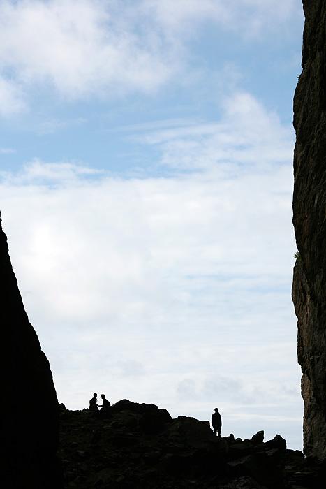 le trou fait 160m de long, sur 35m de haut et 20m de large.