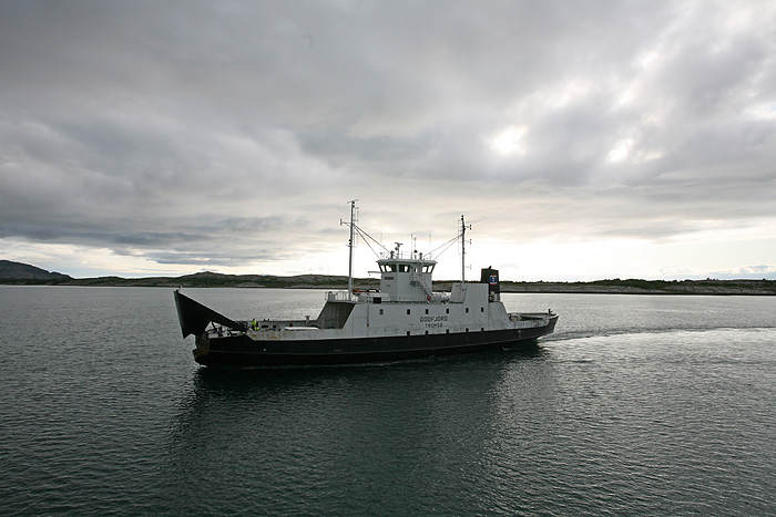 au départ du 2nd ferry