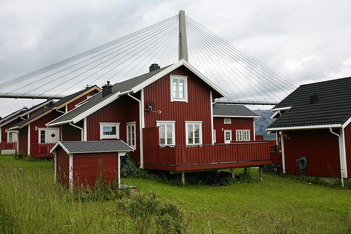 avec ces belles maisons rouges, ça le fait aussi
