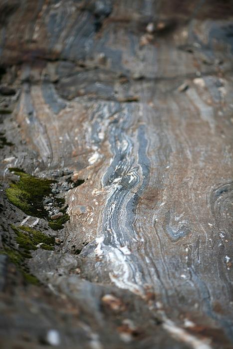 les couches de roche