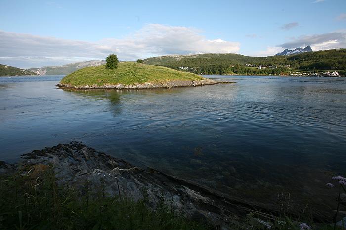 avec superbe vue sur le fjord