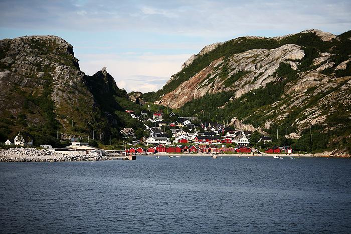 un petit village de pêcheurs