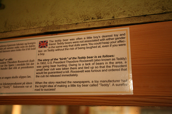la véritable histoire de Teddy Bear !