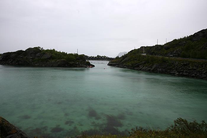 la couleur de l'eau !