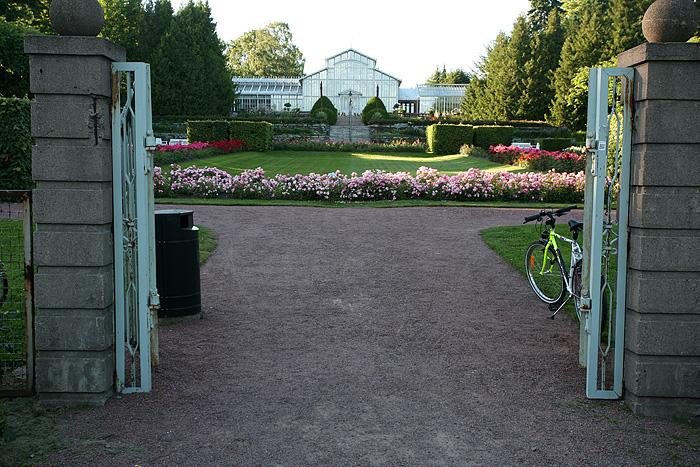 Le jardin botanique / jardin d'hiver