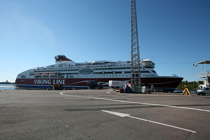 Notre ferry arrive
