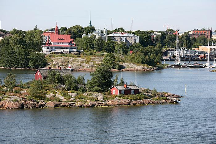 Petites îles habitées