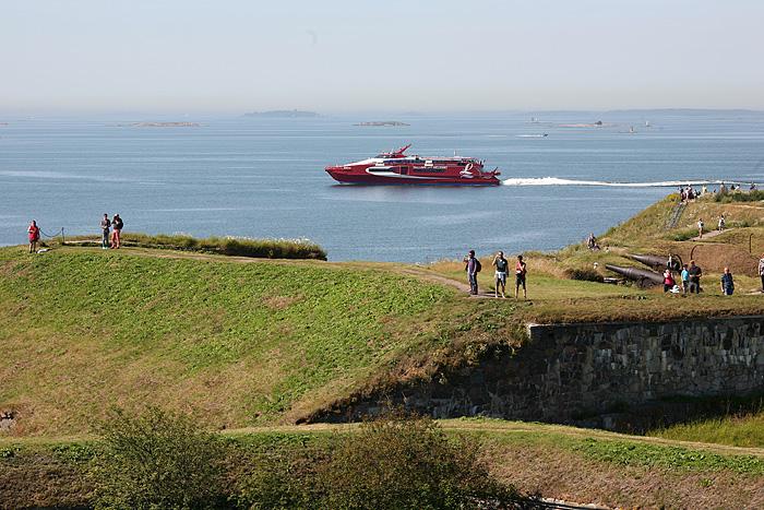 et le ferry express pour Tallinn