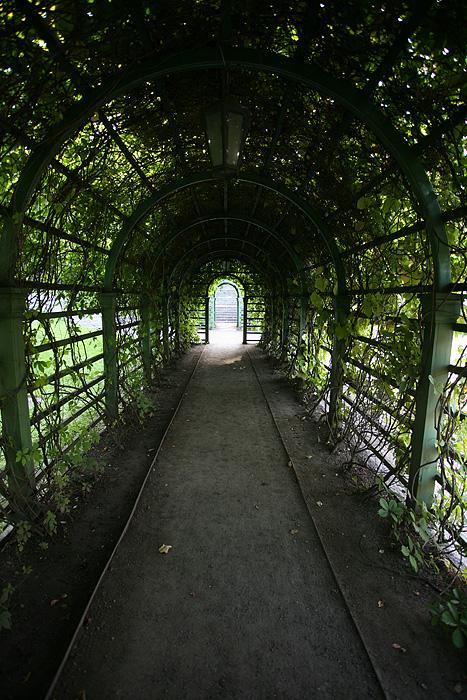 Un tunnel bien agréable