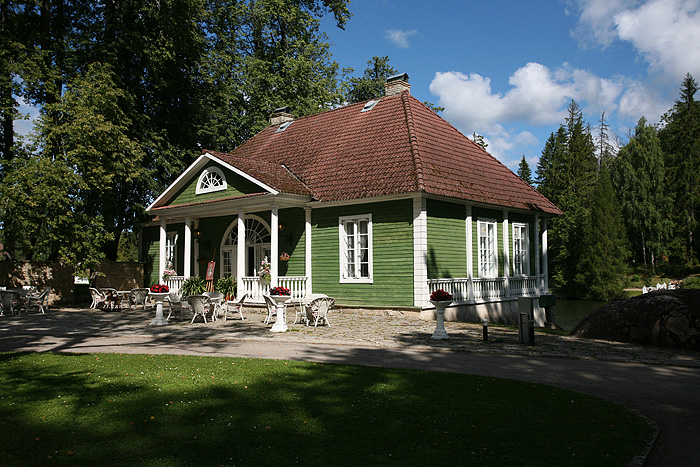 L'ancienne maison des bains est devenue un restaurant