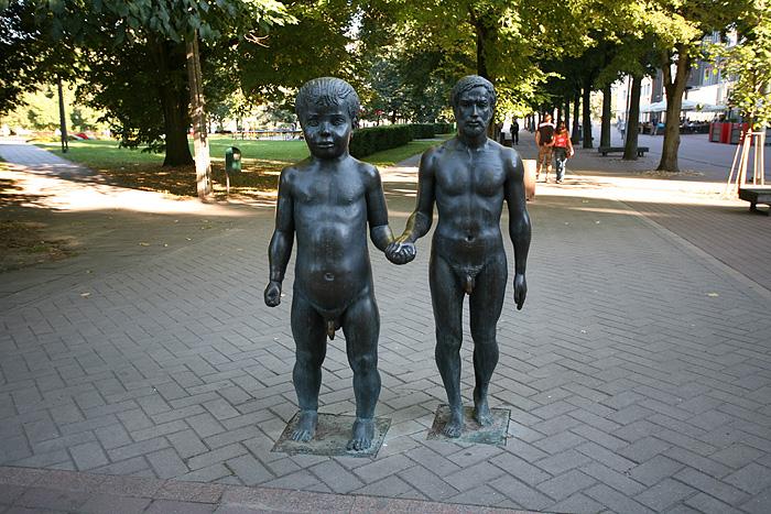 Sculpture intéressante