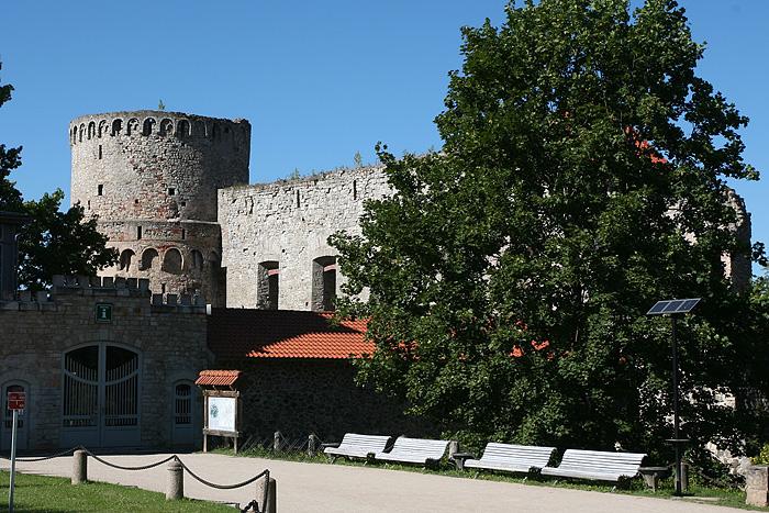 Le château de Cesis construit en 1209