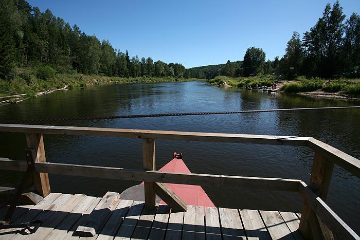 La rivière est très fréquentée (canoe, rafting...)