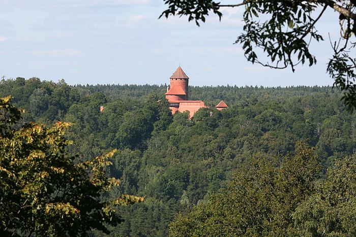 On a quand même droit à une magnifique vue sur le château