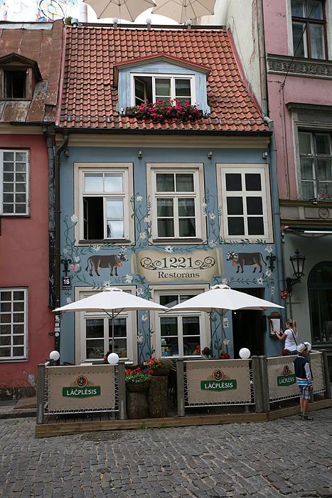 Un des plus vieux restaurants de Riga