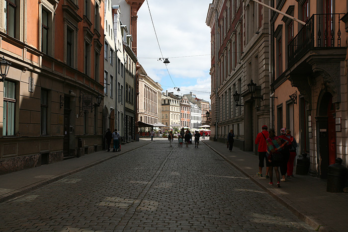 Les rues de Riga