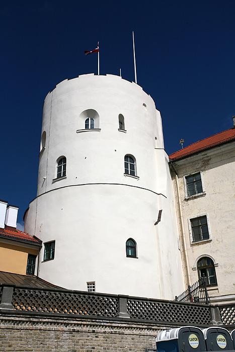 Le chateau qui sert aujourd'hui de palais présidentiel