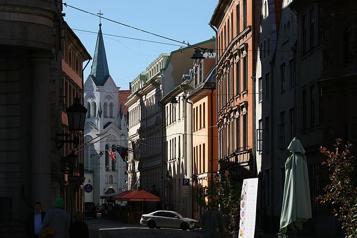 Les ruelles de Riga