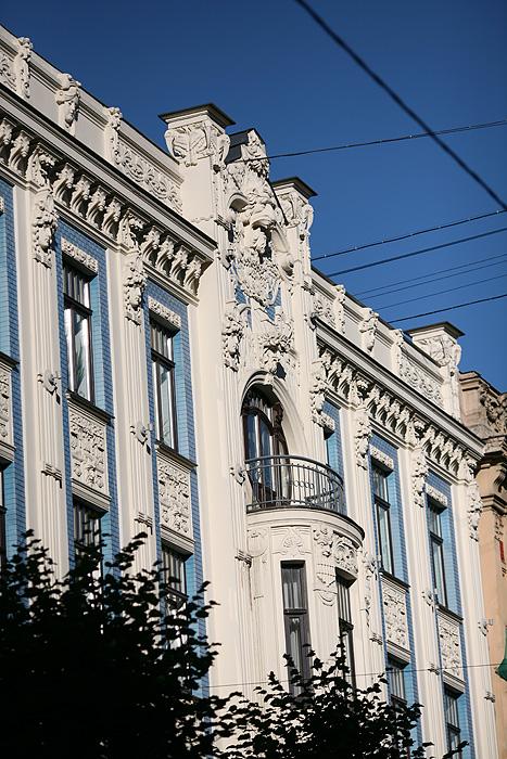 Vue d'ensemble d'une autre façade