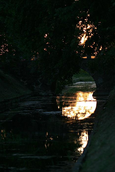 Passe au dessus de la rivière
