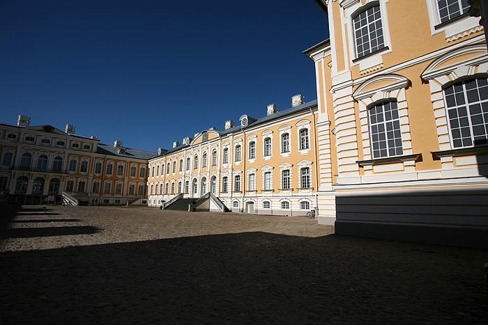 La cour intérieure du palais