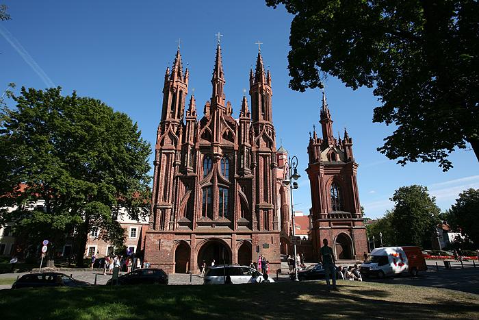 la splendide église Sainte-Anne