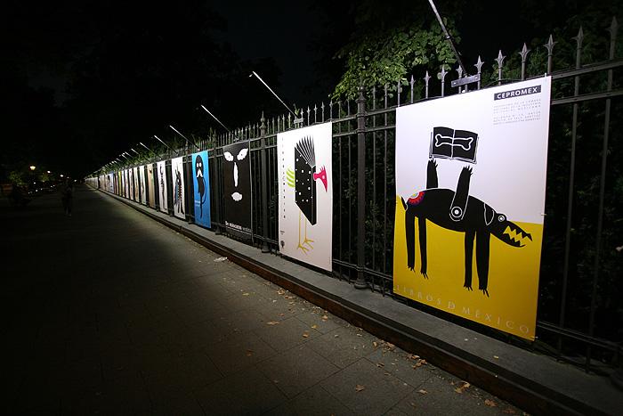 L'exposition d'affiches