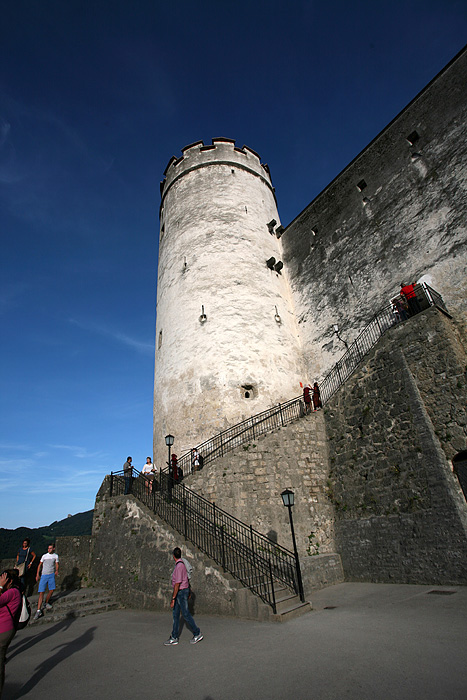 Une des tour de la forteresse