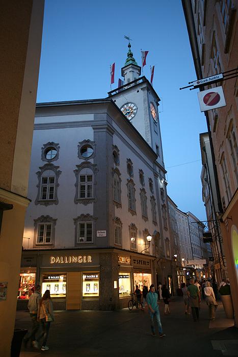 La vieille ville la nuit