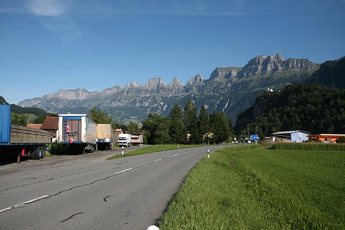 De belles montagnes.