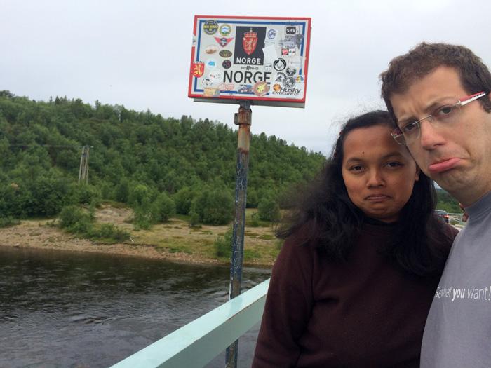 Snif, on quitte la Norvège!