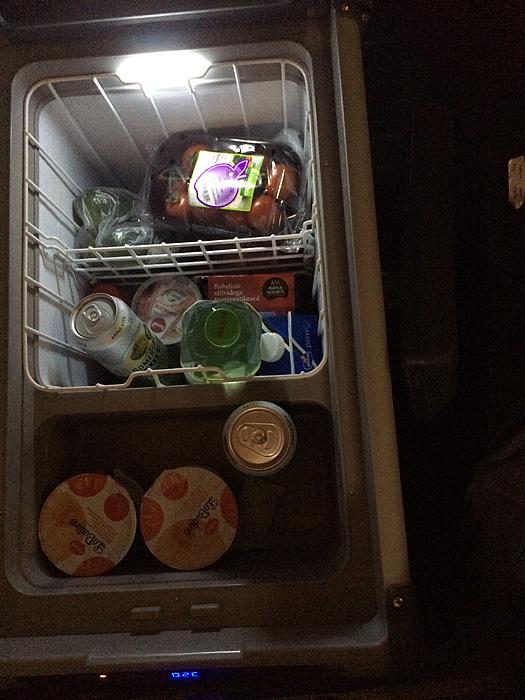 Et voilà le frigo presque rempli)