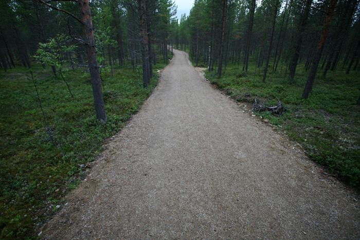 très accessible le sentier