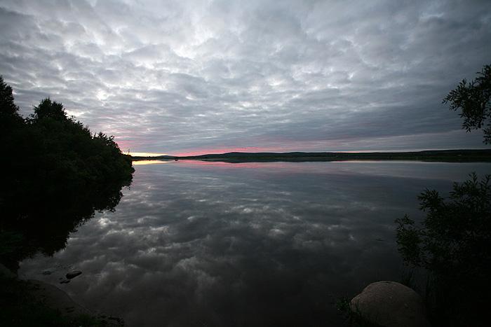mais le spectacle de ce coucher de soleil est assez captivant