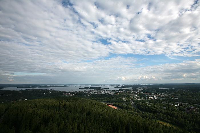 vue d'ensemble, côté Kuopio